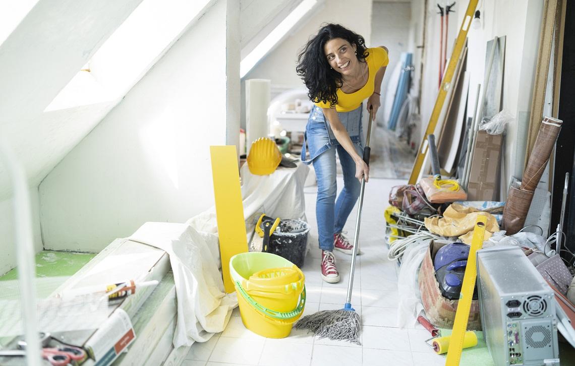 Jak sprzątać po budowie i remoncie?